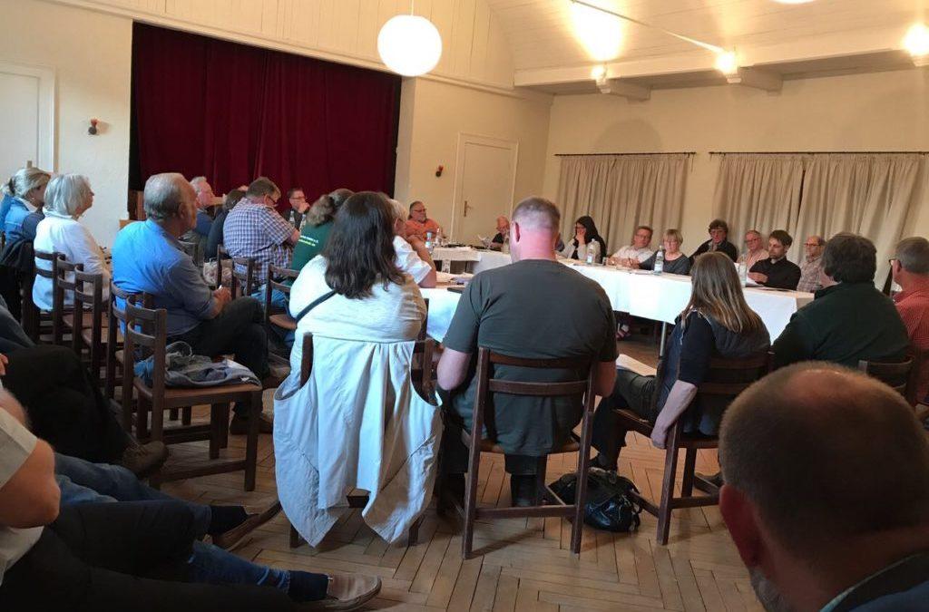 Erstaunliches Szenario auf der Gemeindevertretersitzung in Rieseby